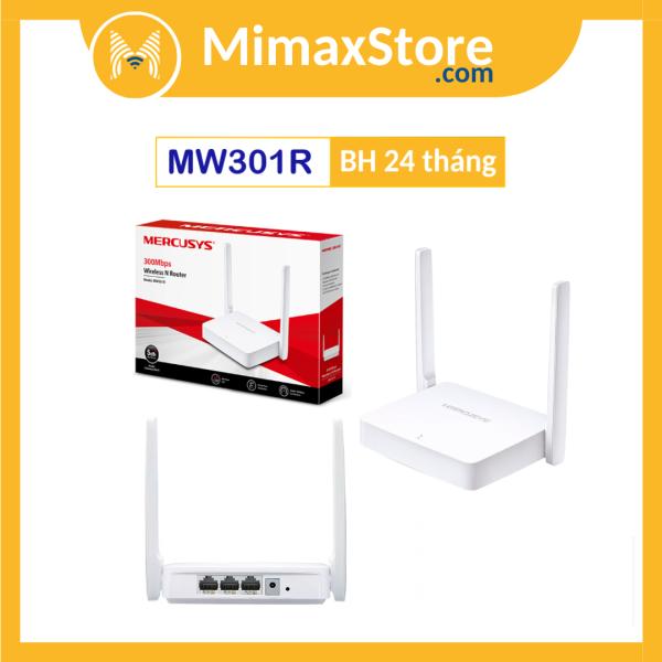 Bảng giá Bộ Phát Wifi Không Dây Mercusys MW301R 300Mbps | Hàng Chính Hãng | Bảo Hàng 24 Tháng Phong Vũ
