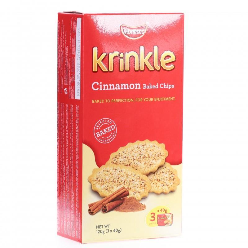 Bánh quy Krinkle vị quế hộp 120g