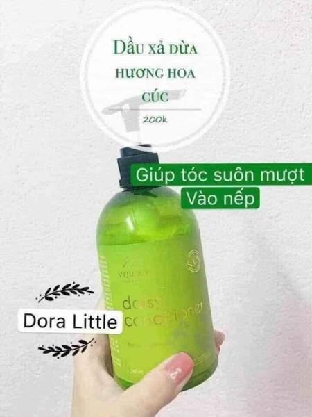 Dầu Xả Dừa Hương Hoa Cúc ViJully - Phục Hồi Tóc Hư Tổn, Chẻ ngọn - Suôn mượt, Vào nếp giá rẻ