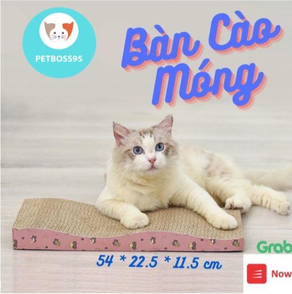 [Tặng CATNIP] Bàn cào móng cho mèo xả stress cho mèo (CỠ LỚN)