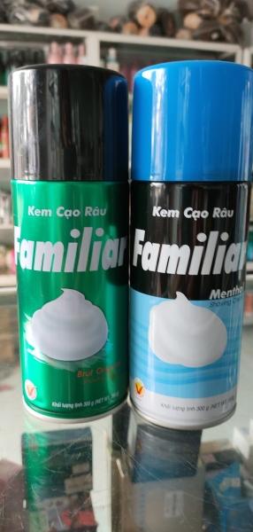 Kem (bọt) cạo râu hương bạc hà Familiar Menthol 300g