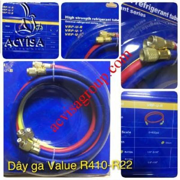 Bộ Dây Gas VALUE Model R22 VRP-U-R/Y/B (1 Bộ = 3 Sợi 90 Cm)