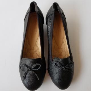 Giày búp bê nữ BIGBEN đế xuồng da bò thật cao cấp bảo hành một năm thumbnail