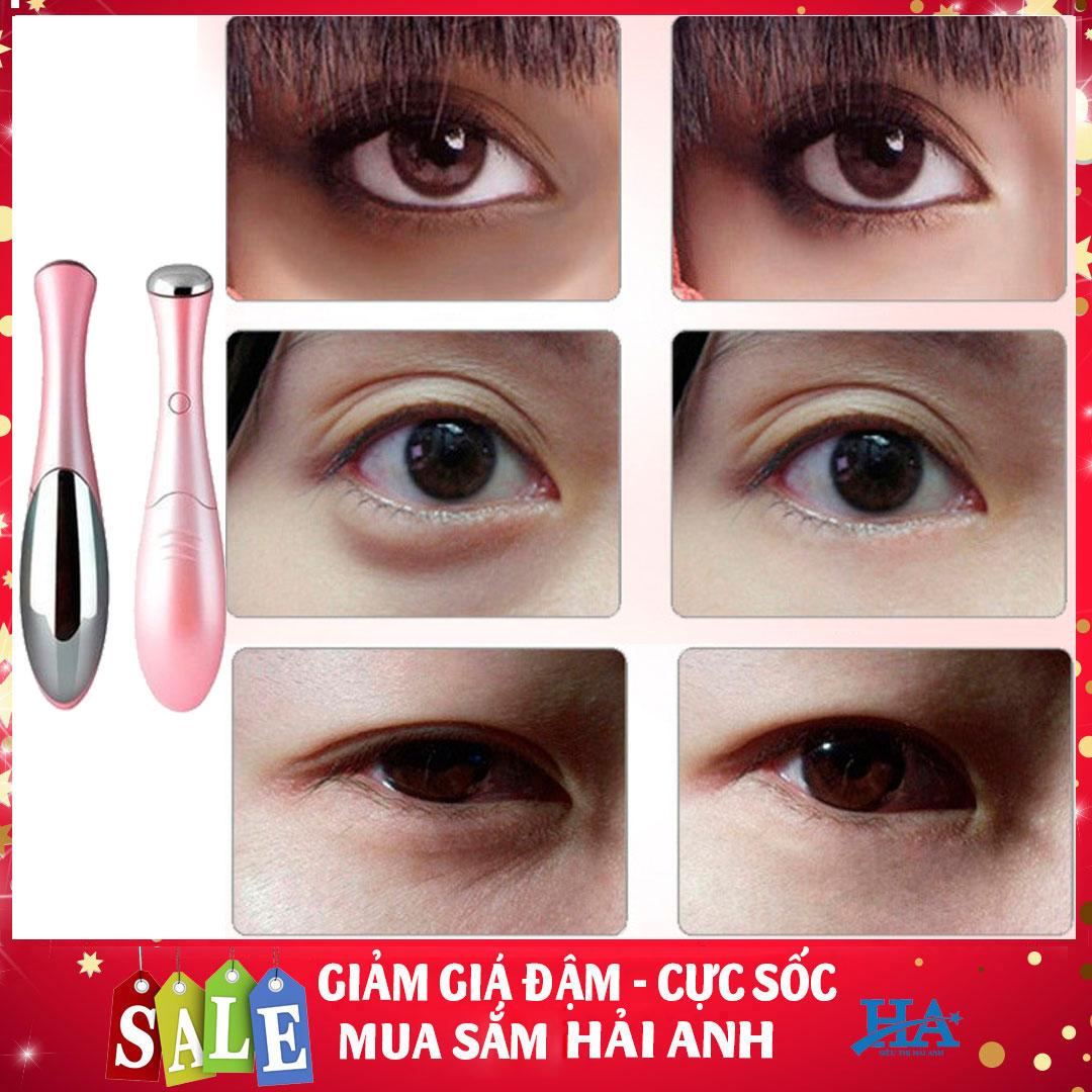 Máy massage trị thâm mắt, quầng thâm làm mờ nếp nhăn giúp da mịn màng sáng hơn, cách trị thâm mắt hiệu quả - GDVI04