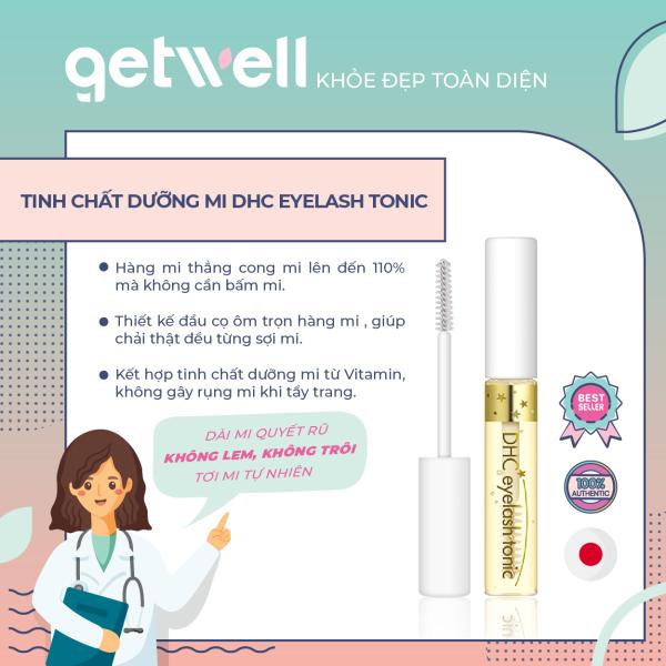 [HCM]Tinh chất dưỡng mi DHC Eyelash Tonic 6.5ml