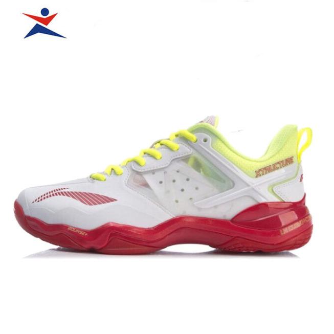 Giày Cầu Lông Lining Cho Nữ AYZR002-1 màu trắng chống trượt, chống lật cổ chân-giày bóng chuyền-giày thể thao giá rẻ