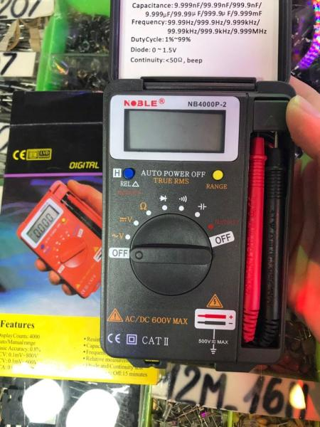 Đồng hồ đo vạn năng Noble NB 4000P-2