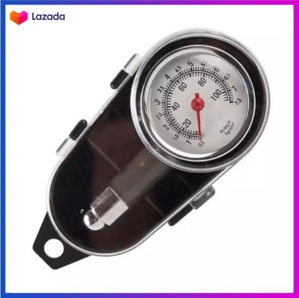 Đồng hồ đo áp suất kiểm tra lốp xe máy, ô tô cao cấp, độ chính xác cao, Chất liệu inox cao cấp