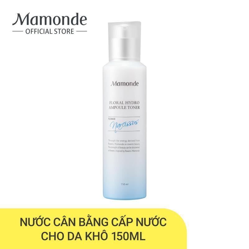 Nước cân bằng kết cấu cô đặc cấp nước cho da Mamonde Floral Hydro Ampoule Toner 150ml cao cấp