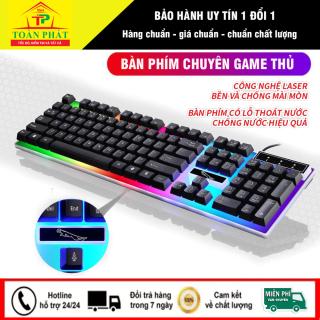 Bàn phím game thủ, ban phim gaming chuyên dụng với kiểu dáng rất phá cách, hệ thống đèn LED cực kỳ ấn tượng. Thiết kế nút bàn phím cao CHỐNG THẤM NƯỚC cùng CÔNG NGHỆ KHẮC CHỮ CHỐNG MỜ LASER các nút phím. thumbnail