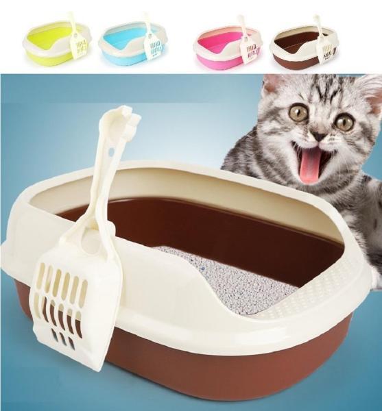 Khay vệ sinh cho chó,mèo,và các loại thú cưng trong nhà 40-29-13,5cm tiện ích vvv