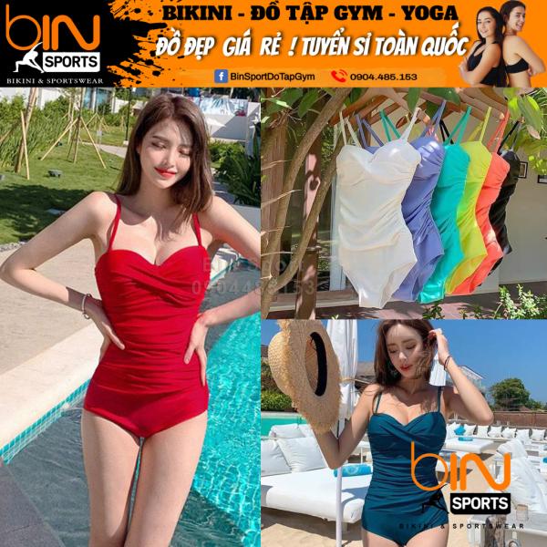 Nơi bán Bikini Nữ Liền Thân Nhiều Màu Freesize Bin Sports BHV079