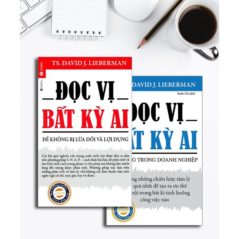 Sách Đọc Vị Bất Kỳ Ai ( Combo 2 cuốn)
