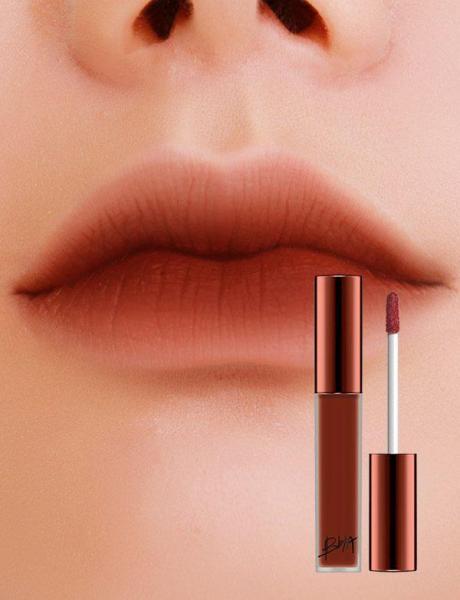 Son kem Bbia Last Velvet Lip Tint Màu 25 #đỏ nâu trầm siêu đẹp cao cấp