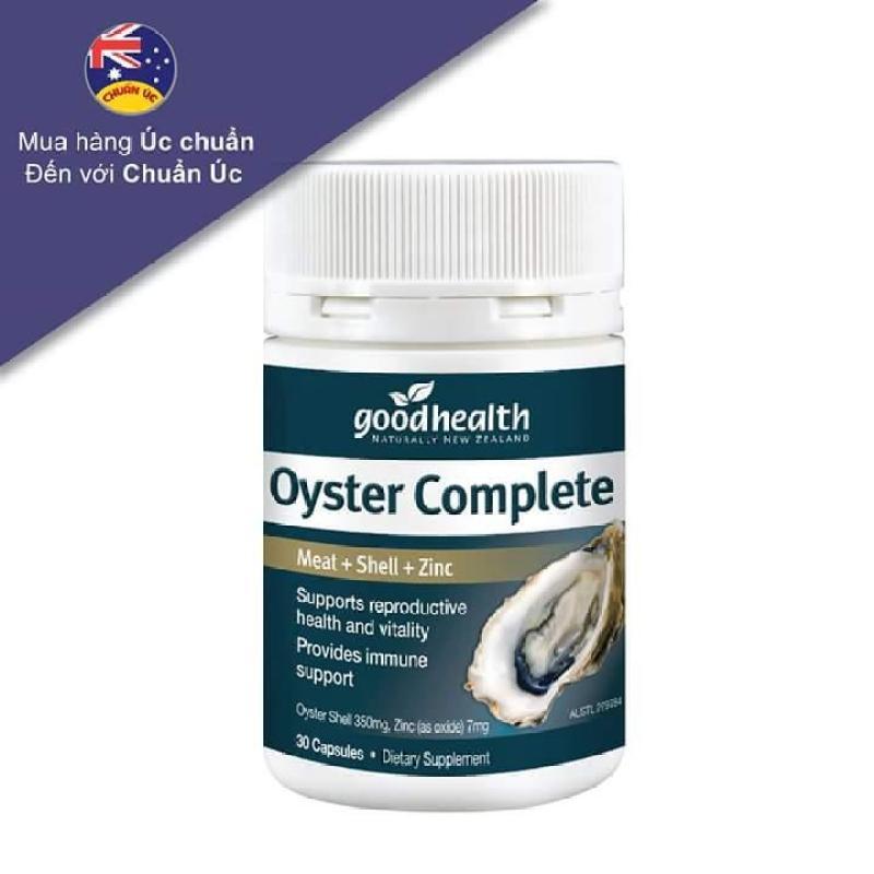 Dưỡng chất hàu biển Goodhealthy Oyster Plus 60v - Phẩm chất đàn ông cao cấp