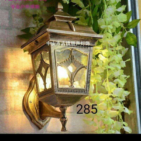 Đèn chùa đồng gắn tường trụ cổng trang trí ngoại thất sân vườn, cổng ra vào cổ điển sang trọng mã 285 - Đèn Phương Anh