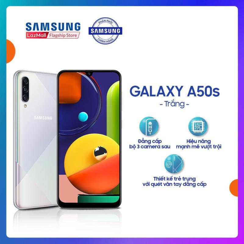 Điện Thoại Samsung Galaxy A50s 64 GB (4GB RAM) - Màn hình vô cực Infinity-U 6.4 với độ phân giải SuperAMOLED + Bộ 3 camera sau + Pin 4000 mAh - Hàng Phân Phối Chính Hãng.