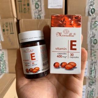 Vitamin E Đỏ của Nga 400mg Sáng Da Mờ Thâm Nám thumbnail