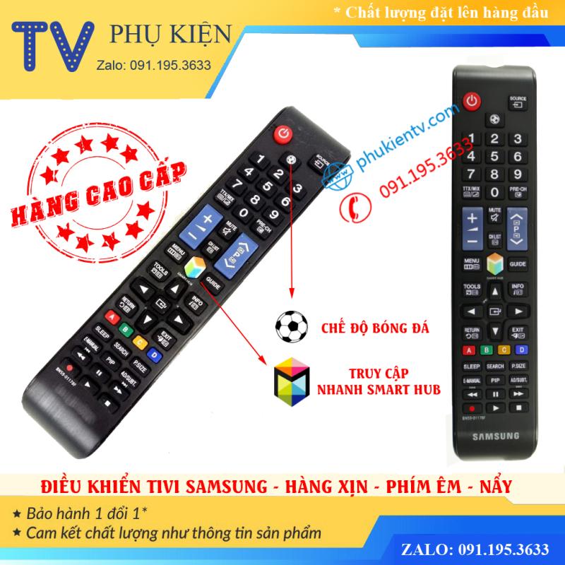 [Hàng Xịn] Điều Khiển Tivi Samsung Smart Tivi BN59-01178F - Hàng Cao Cấp Phím Bấm Êm - Nẩy - Nhạy chính hãng