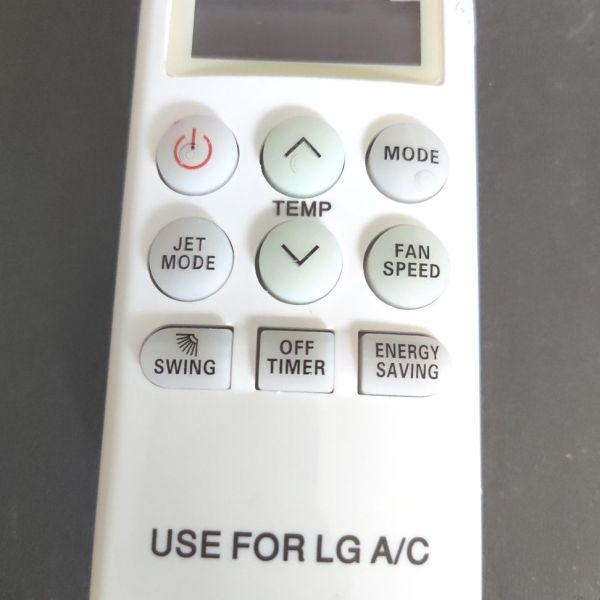 Remote điều khiển điều hoà LG loại ngắn