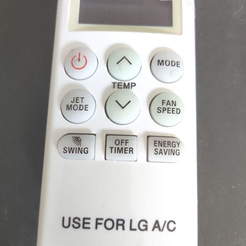 Bảng giá Remote điều khiển điều hoà LG loại ngắn
