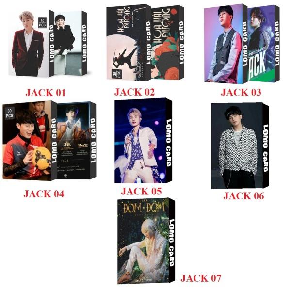 7 MÃU LOMO CARD JACK THẦN TƯỢNG ÂM NHẠC 30 TẤM CARD CỰC ĐẸP