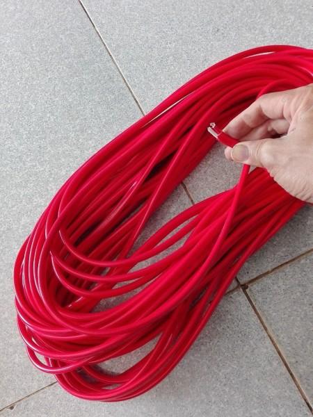 20m dây điện đôi dẹp 2 lớp vỏ Daphaco 2.5