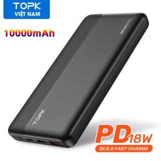 Pin Dự Phòng TOPK I1015P 10000MAh Powerbank 18W - Phân phối bởi TOPK VIỆT NAM thumbnail