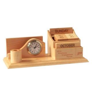 Lịch gỗ trang trí để bàn bằng gỗ thumbnail