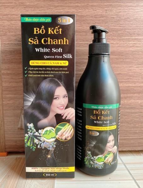 [SIÊU MƯỢT] Dầu Gội Bồ Kết Sả Chanh 850 ml - Dầu Gội Bồ Kết Sả Chanh thế hệ mới, dầu gội trị rụng tóc, dầu gội đầu bồ kết