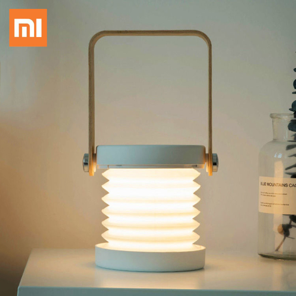 Xiaomi Foldable Touch Dimmable Reading LED Night Light Portable Lantern Lamp USB Rechargeable Children Kids Gift Bedside Bedroom