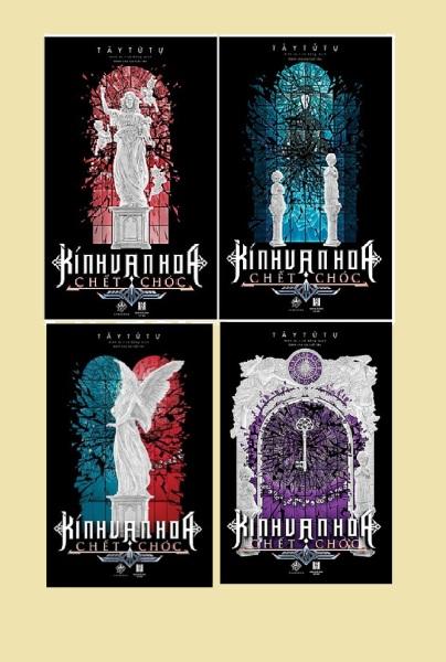 Mua nguyetlinhbook Sách - Combo Kính Vạn Hoa Chết Chóc Tập 1,2,3,4 (nguyetlinhbook)