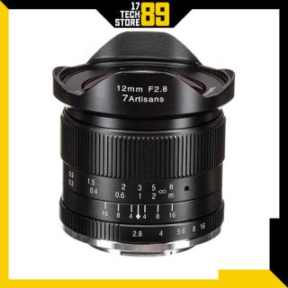 Ống kính 7artisans 12mm F 2.8 (Manual Focus) Ngàm Fujifilm-Sony thumbnail