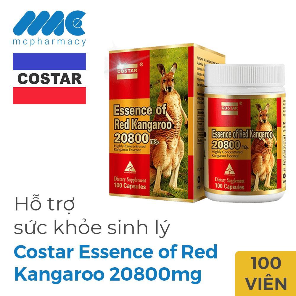 Essence of Red Kangaroo 20800 Max Tăng Cường Sinh Lý Nam, Chai 100 Viên