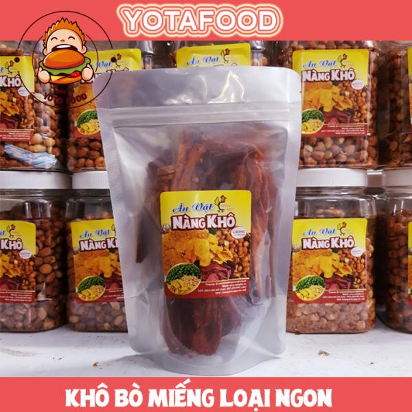 Khô bò miếng loại 1 siêu ngon | 100gr | Yotafood