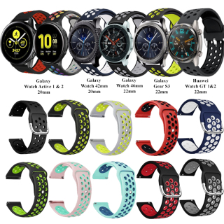 [Galaxy Watch Active 2 ] Dây đeo Silicon thể thao Samsung Galaxy Watch Active 2 - 20mm-22mm thumbnail