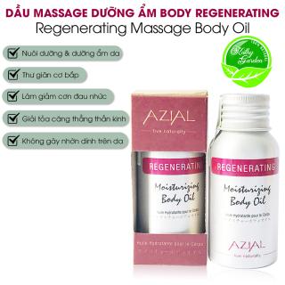 Dầu massage body tinh dầu Sả Gừng AZIAL Regenerating Moisturizing Body Oil 50ml, dưỡng ẩm, thư giãn cơ bắp, làm dịu cơn đau nhức, giảm căng thẳng thumbnail