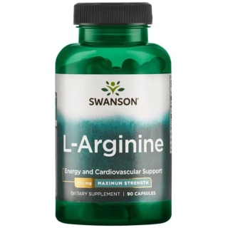Swanson Premium Tăng Sinh Lý Nam L-Arginine 850mg [90 Viên] - Chính Hãng Muscle Fitness thumbnail