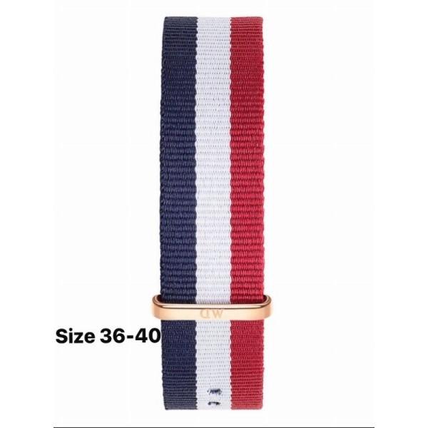 Dây nato - dây vải đồng hồ dw dành cho nam nữ size 40mm khóa vàng bán chạy