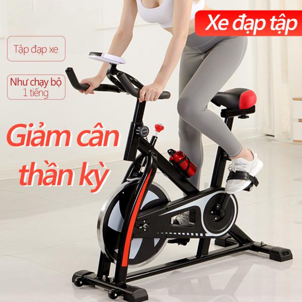 Bảng giá Xe đạp tập gym xe đạp tập tại nhà dụng cụ tập gym tại nhà bàn đạp kiểu lồng chân, yên xe và tay nắm có thể chỉnh độ cao gọn gàng không tốn chỗ Keep Going Max