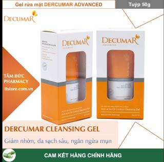 Gel rửa mặt Decumar Advanced Cleanser sạch nhờn, ngừa mụn [Tuýp 50g] - DECUMAR CLEANSING GEL thumbnail