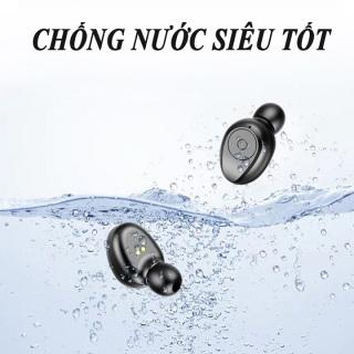 [ Sale Sốc ] Tai Nghe Bluetooth AMOI F9 Pro Quốc Tế Nút CẢM ỨNG Bluetooth 5.0 Kén Sạc 2000 Mah Âm Thanh Sắc Nét - Tai Nghe Bluetooth Không Dây Amoi F9 Pin Trâu - Tai Nghe Buetooth cho mọi dòng máy 6