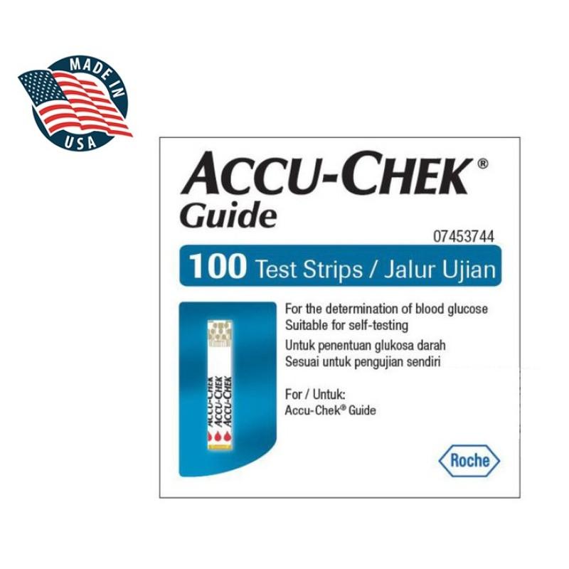 Que thử đường Accu-Chek Guide tốt nhất