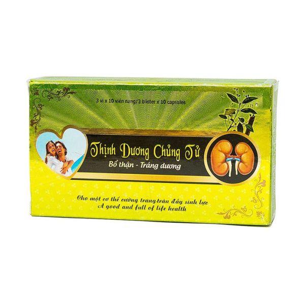 Thịnh Dương Chủng Tử, hỗ trợ điều trị liệt dương, xuất tinh sớm nhập khẩu