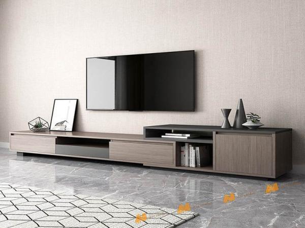 Giá bán Tủ gỗ An Nhiên hiện đại góc cạnh sắc nét phù hợp căn hộ xứng đáng đồng tiền bỏ ra Gỗ MDF loại cao cấp độ dày 17mm chất lượng gỗ vượt trội Mẫu mới hiện đại B105