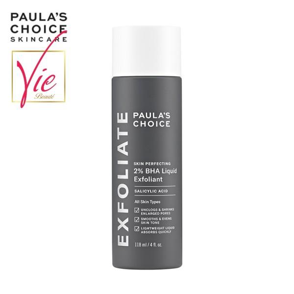 Paulas Choice BHA 2% - Tẩy tế bào chết Paulas Choice 2% BHA Skin Perfecting Liquid