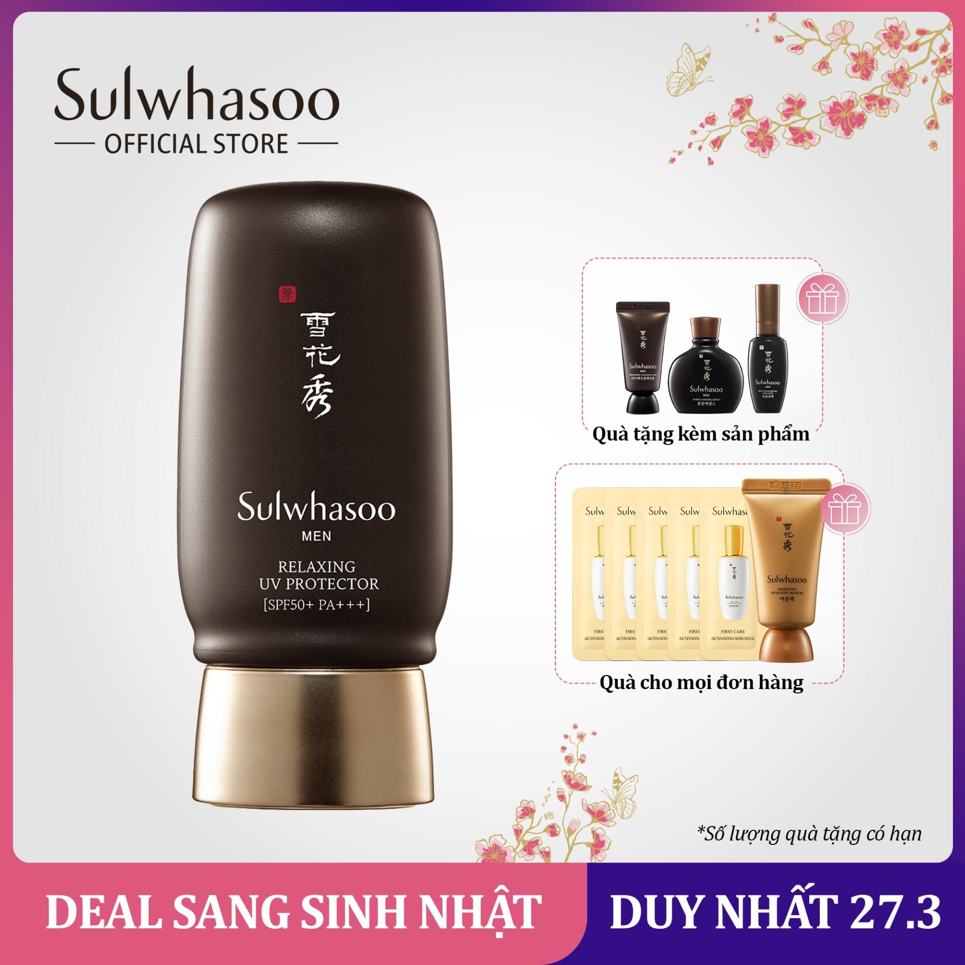 Kem chống nắng cho nam Sulwhasoo Relaxing Uv Protector 50ml cao cấp