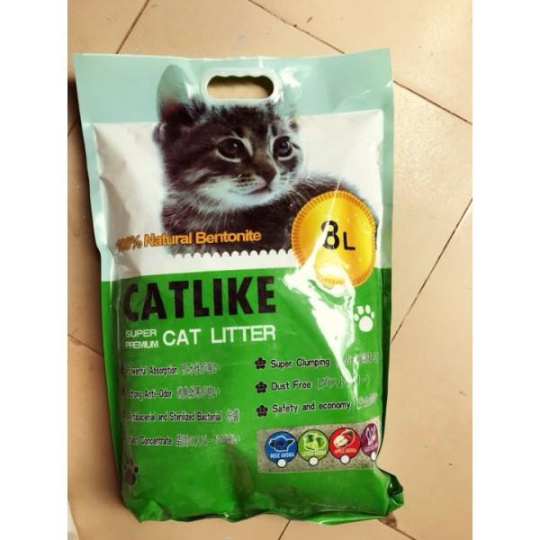 Cát Vệ Sinh Cho Mèo Cat Like 8L - Cát like táo