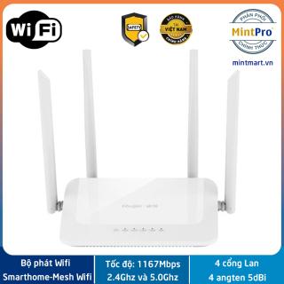 Bộ phát WiFi Ruijie RG-EW1200 Dual-band AC1200 MU-MIMO hỗ trợ Mesh - Hàng chính hãng - Bảo hành 3 năm thumbnail