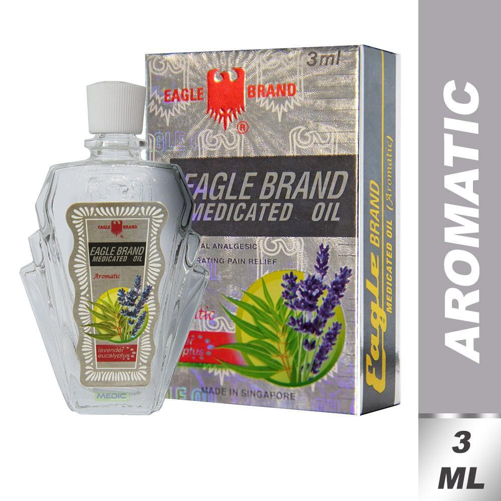 Dầu con ó trắng lavender 3ml nhập khẩu